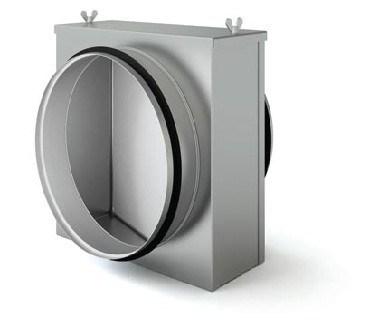 Воздушный фильтр для круглых воздуховодов FLKС 200 - фото 11409