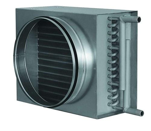 Воздухонагреватели водяные для круглых воздуховодов (калориферы) VWK 200/2 - фото 11442