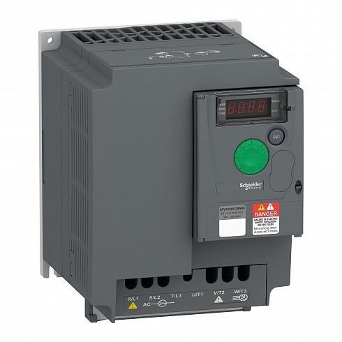 ATV310HU75N4E преобразователь частоты 7.5кВт, 400В - фото 11540