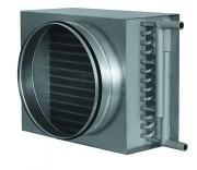 Воздухонагреватели водяные для круглых воздуховодов (калориферы) VWK 250/2 - фото 12811
