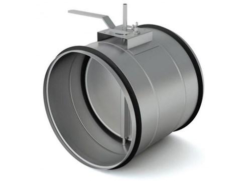 Воздушный клапан круглый утепленный KKU 200 - фото 14009