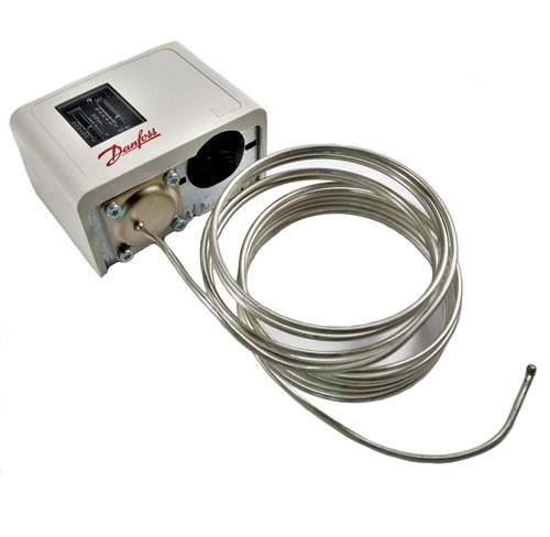 KP61 Термостат с капиллярной трубкой 6м с крепежом - фото 14033
