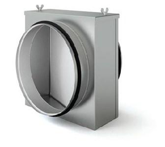 Воздушный фильтр для круглых воздуховодов FLKС 200