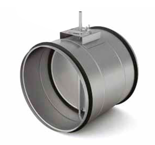 Воздушные клапаны с площадкой под привод ZLC 315 для круглых воздуховодов