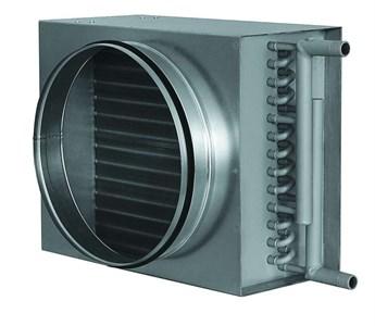 Воздухонагреватели водяные для круглых воздуховодов (калориферы) VWK 200/2
