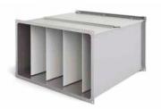 Воздушный фильтр для прямоугольных воздуховодов карманные KPFC 400X200