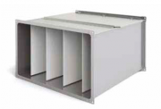 Воздушный фильтр для прямоугольных воздуховодов карманные KPFC  700X400